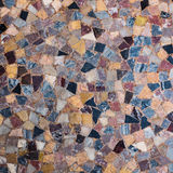 Mosaic of stones to use as background Stock Photography