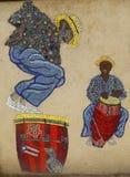 Mosaic street art by artist Manny Vega at East Harlem in New York Stock Images