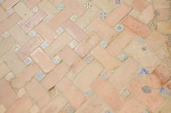 Mosaic at street,  Seville, Spain Stock Photo