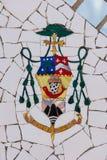 Mosaic in Ta Pinu, Malta Stock Image