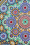 Mosaic table Fes Royalty Free Stock Images