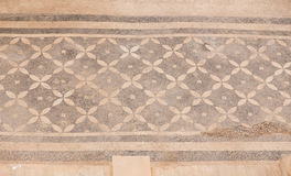 Mosaic in Terrace Houses, Ephesus Ancient City Stock Image