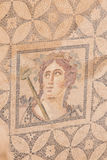 Mosaic in Terrace Houses, Ephesus Ancient City Royalty Free Stock Image