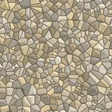 Mosaic texture. A mosaic-type texture of different size and color stones vector illustration
