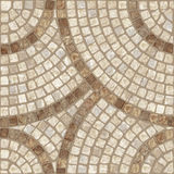 Mosaic texture. Brown marble-stone mosaic texture. (High.res stock image