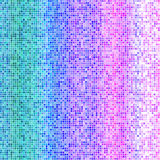 Mosaic texture design background in blue pink violet colors. In high resolution for your design project or website Stock Image