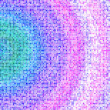 Mosaic texture design background in blue pink violet colors. In high resolution for your design project or website Stock Photo