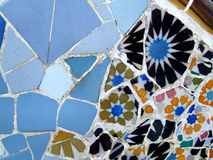 Mosaic texture by Gaudi Royalty Free Stock Image