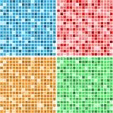 Mosaic textures Royalty Free Stock Image