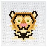 Mosaic Tiger Royalty Free Stock Images