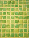 Mosaic tile. Vertical mosaic tile background in the shades of green, yellow and white *RAW format available at request royalty free stock photos