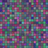 Mosaic tile. Colorful modern mosaic tile in a bathroom Stock Photography