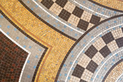 Mosaic tile abstract background Stock Photo