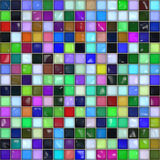 Mosaic tile. Stock Image