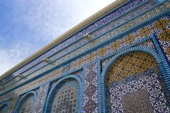 Mosaic Tile. Dome of the Rock Royalty Free Stock Photography