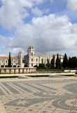 Mosaic Tile Jeronimos Monastery Lisbon, Portugal Stock Image