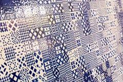 Mosaic tile pattern Stock Photo