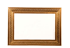 Mosaic tile photo frame Stock Images