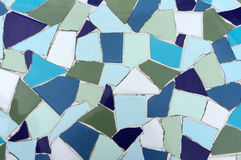 Mosaic tile texture Royalty Free Stock Photos