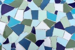 Mosaic tile texture Royalty Free Stock Photos