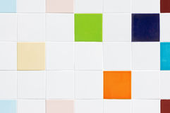 Mosaic tile texture with vivid colors Stock Photography