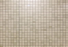 Mosaic tile wall background Royalty Free Stock Image