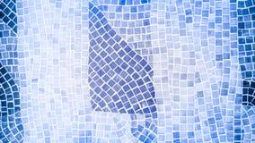 Mosaic tile wall Royalty Free Stock Photos