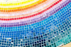 Mosaic tiled on the floor Royalty Free Stock Photography