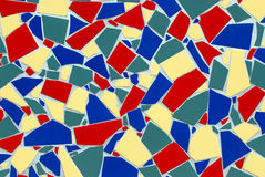 Mosaic Tiles. Colorful Ceramic Mosaic For A Background Or Scrapbook Royalty Free Stock Image