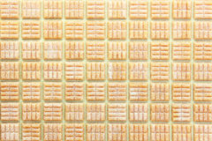 Mosaic Tiles abstract background Stock Image