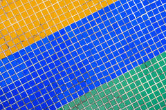 Mosaic tiles background Stock Images