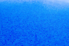 Mosaic tiles background in swimming pool Stock Image