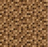 Mosaic tiles for bathroom and spa. Seamless background. repeating texture. Brown tile illustration. Stock Image