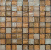 Mosaic tiles. Brown mosaic tiles  for interior Stock Photo