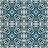 Mosaic tiles in burgundy colour Royalty Free Stock Photos