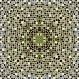 Mosaic tiles in burgundy colour Stock Photo