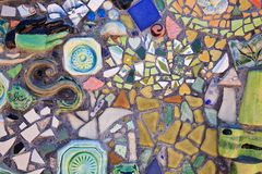 Mosaic Tiles. Close up colorful mosaic tiles stock photography