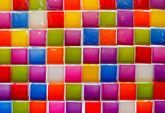 Mosaic tiles of Colorful  for background Royalty Free Stock Photos