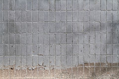 Mosaic tiles on the facade of a house. Stock Image