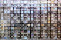 Mosaic tiles grunge textures wall background Royalty Free Stock Images