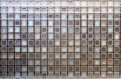 Mosaic tiles grunge textures wall background Stock Photo