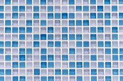 Mosaic tiles in the interior of the bathroom. Background of ceramic tiles mosaic royalty free stock photography
