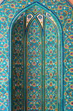 Mosaic tiles, Muscat, Oman Royalty Free Stock Photo