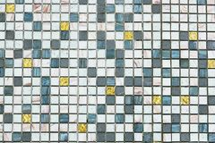 Mosaic tiles pattern seamless for decoration stock photo