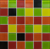Mosaic tiles. Random color mosaic tiles for decoration Stock Photography