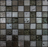 Mosaic tiles. Random mosaic tiles for interior Stock Photos