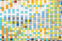 Mosaic Tiles Texture. Mosaic Tiles Abstract Texture Background Stock Photo