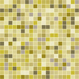 Mosaic tiles texture background. Mosaic tiles texture vector pattern. Square pixel seamless background Royalty Free Stock Images