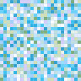 Mosaic tiles texture background. Mosaic tiles texture vector pattern. Square pixel seamless background Stock Photos