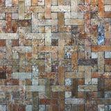 Mosaic tiles texture Stock Image